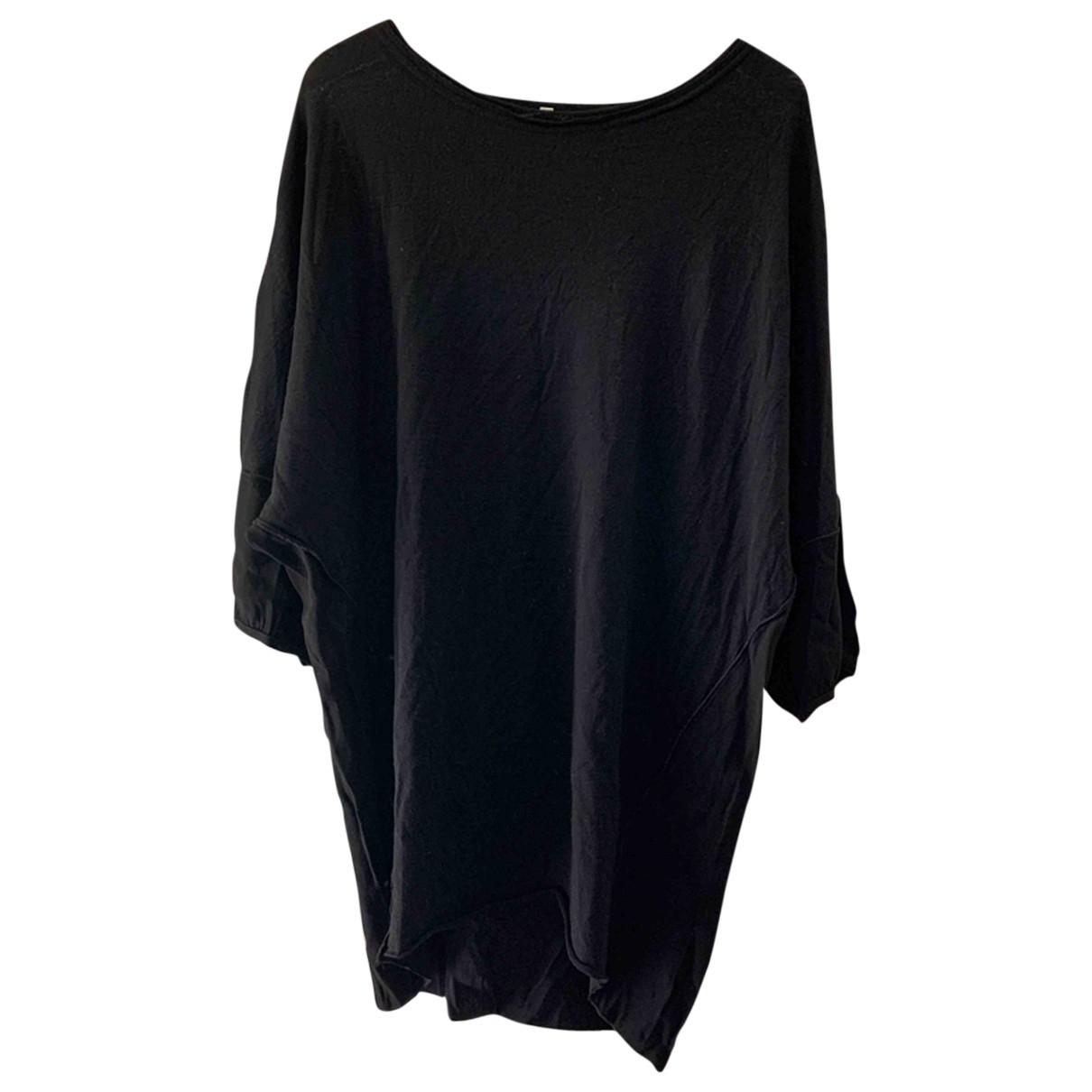 Hache \N Kleid in  Schwarz Wolle