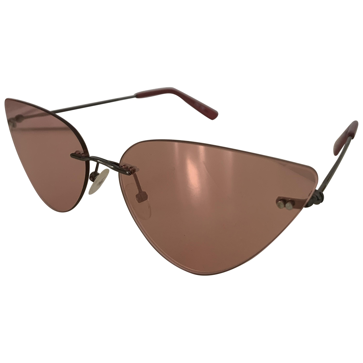 Non Signé / Unsigned \N Pink Sunglasses for Women \N