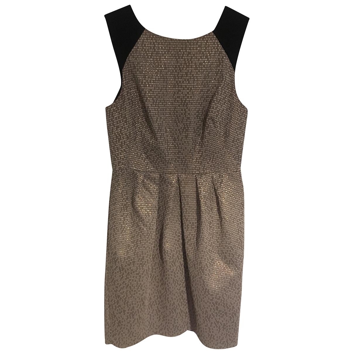 Whistles \N Gold dress for Women 8 UK