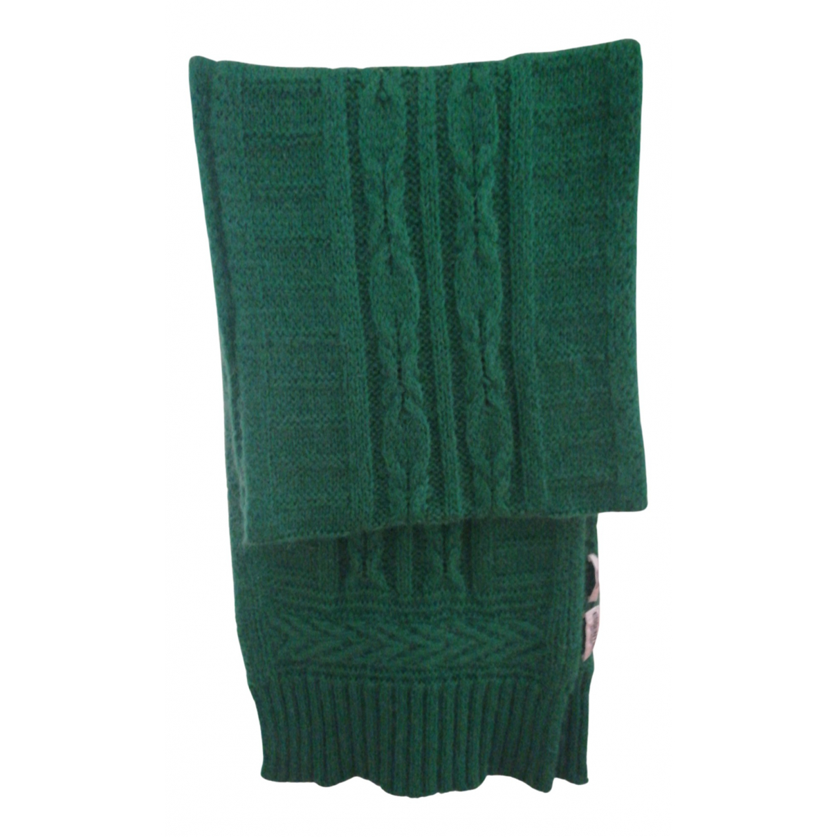 Essentiel Antwerp \N Green Wool scarf for Women \N