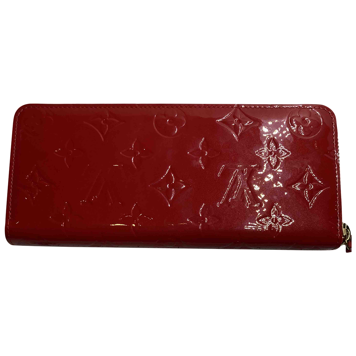 Louis Vuitton Clemence Red Patent leather wallet for Women N