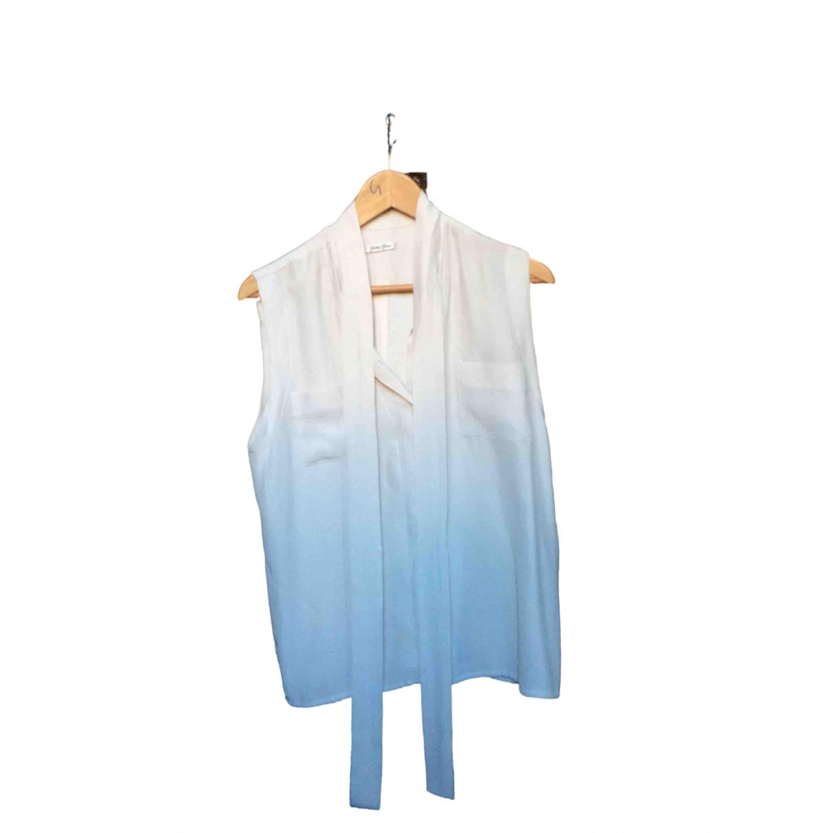 Camiseta sin mangas de Seda Golden Goose