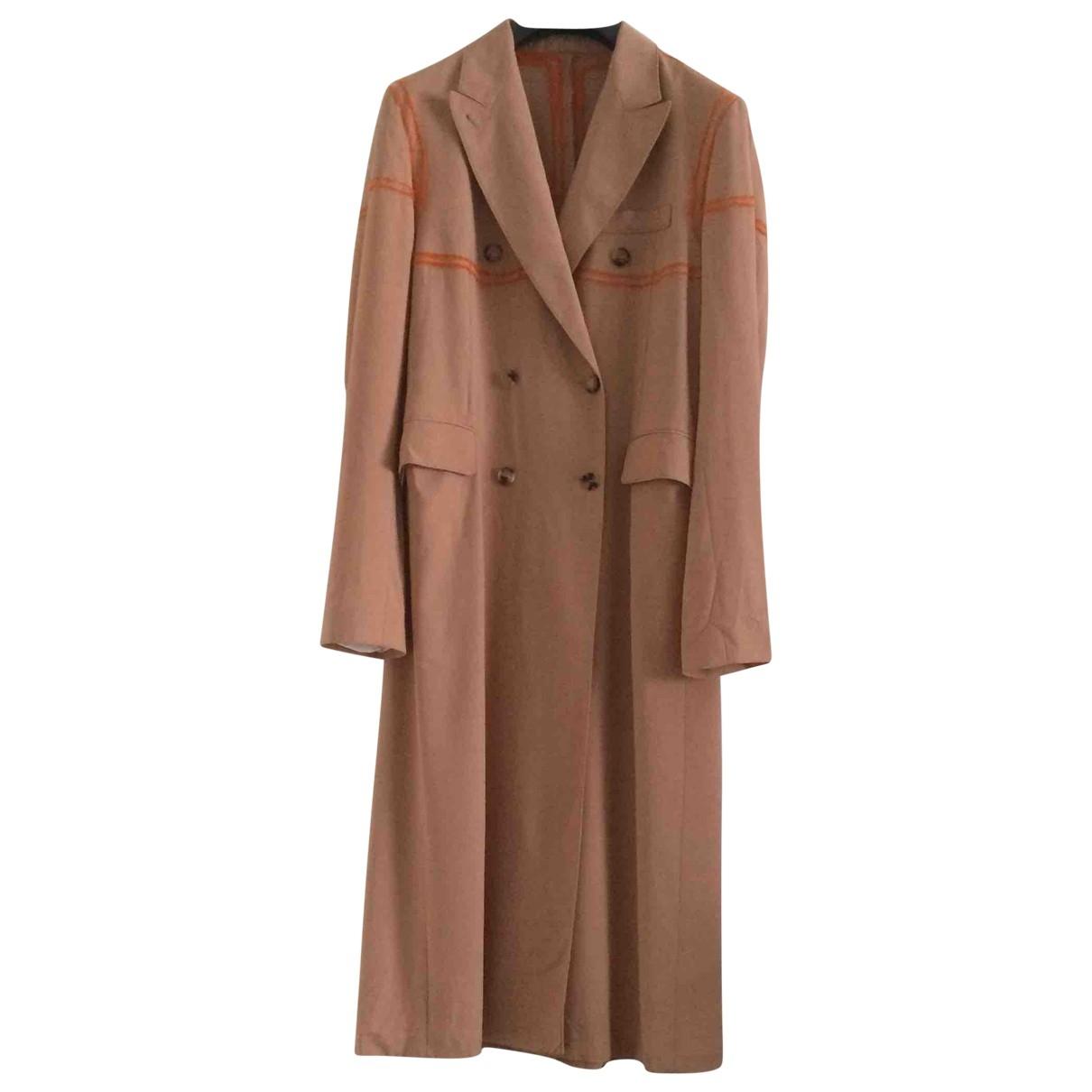 Acne Studios - Manteau   pour femme en laine - rose