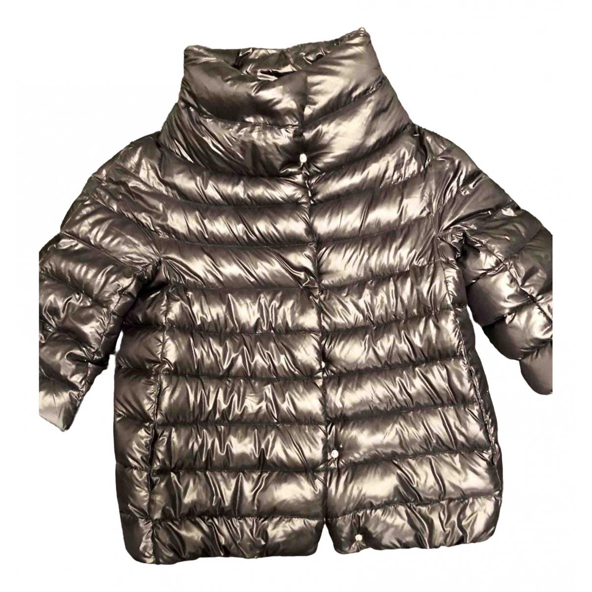 Herno \N Metallic coat for Women 42 IT