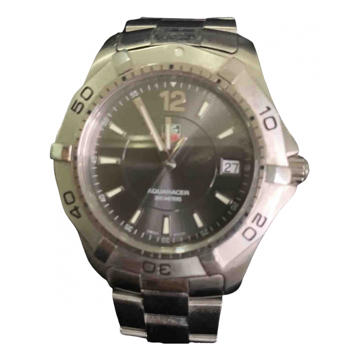 Tag Heuer Aquaracer  Uhr in  Grau Stahl