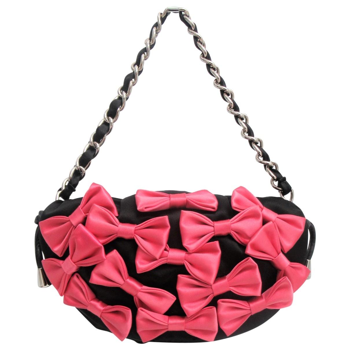 D&g \N Black Cotton handbag for Women \N