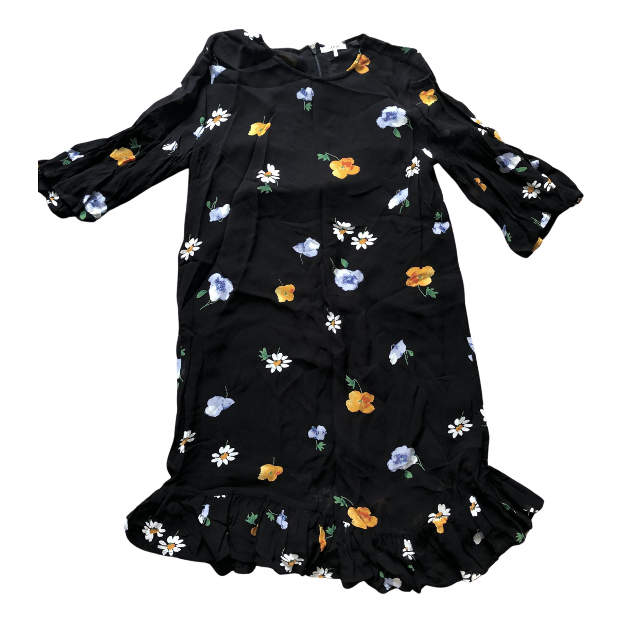 Ganni N Black dress for Women 38 FR