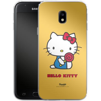 Samsung Galaxy J3 (2017) Silikon Handyhuelle - Hello Kitty Lollipop von Hello Kitty