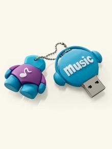Cartoon Shaped USB Flash Drive