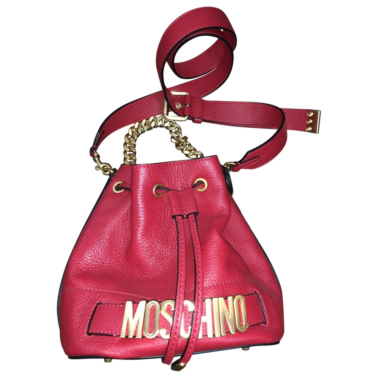 Moschino \N Red Leather handbag for Women \N
