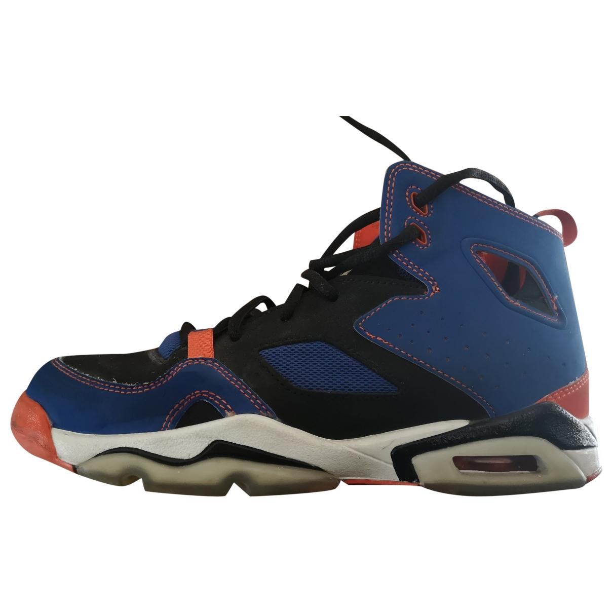 Jordan - Baskets   pour femme en cuir - bleu