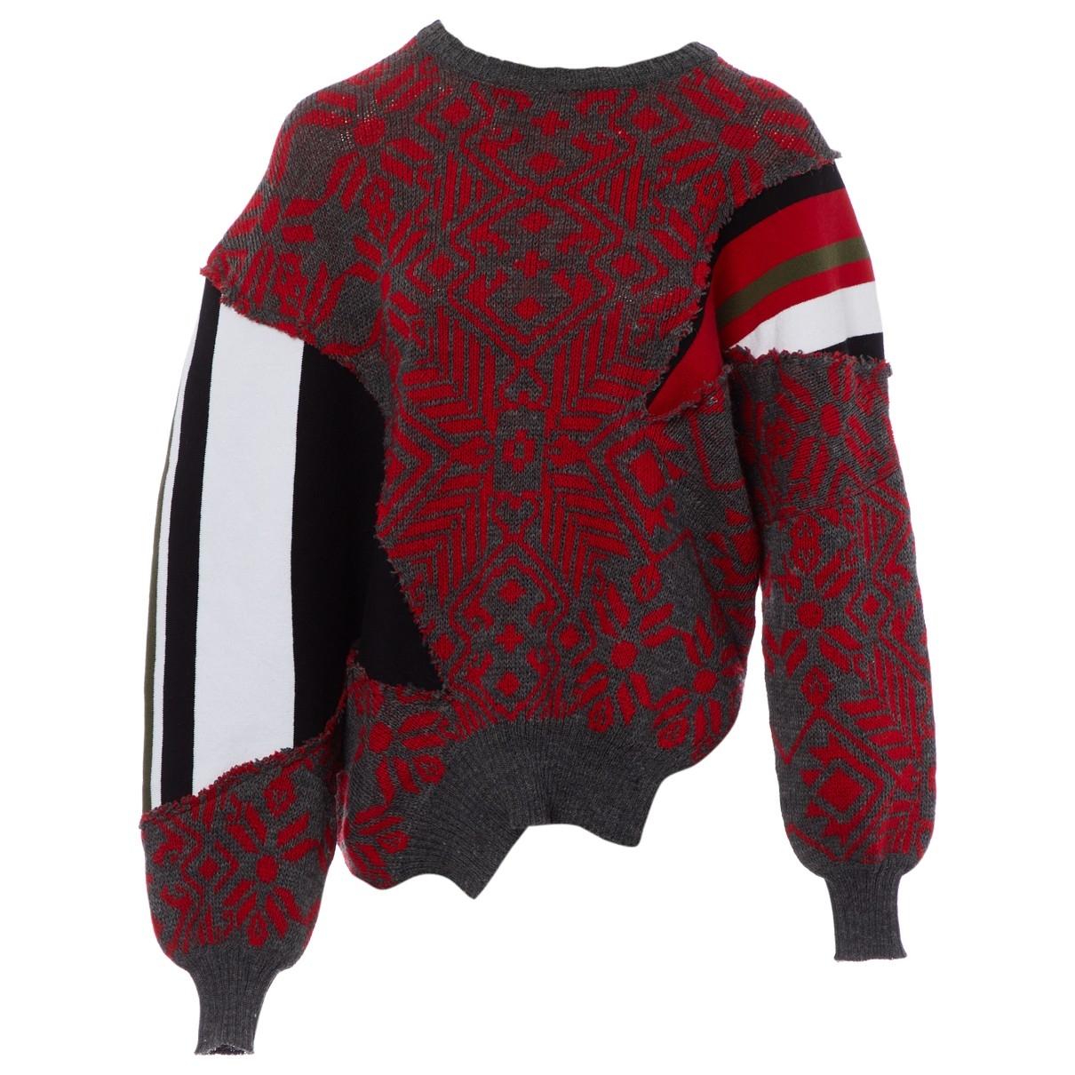Preen - Pull   pour femme en laine - multicolore