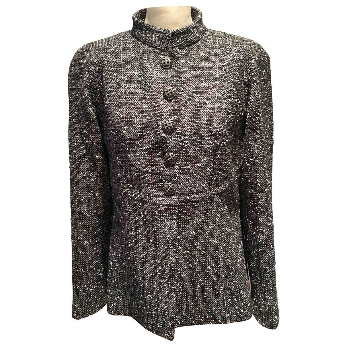 Chanel \N Grey Wool jacket for Women 42 FR