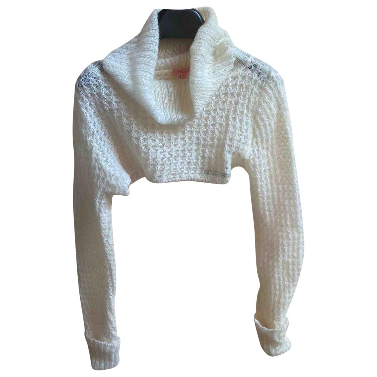 Roberto Cavalli \N White Wool Knitwear for Kids 12 years - XS FR