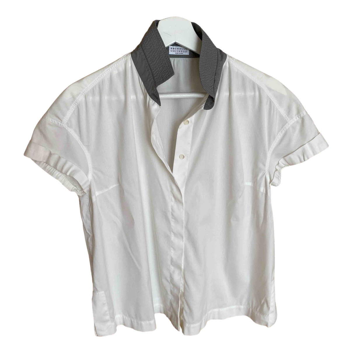 Brunello Cucinelli \N White Cotton  top for Women S International