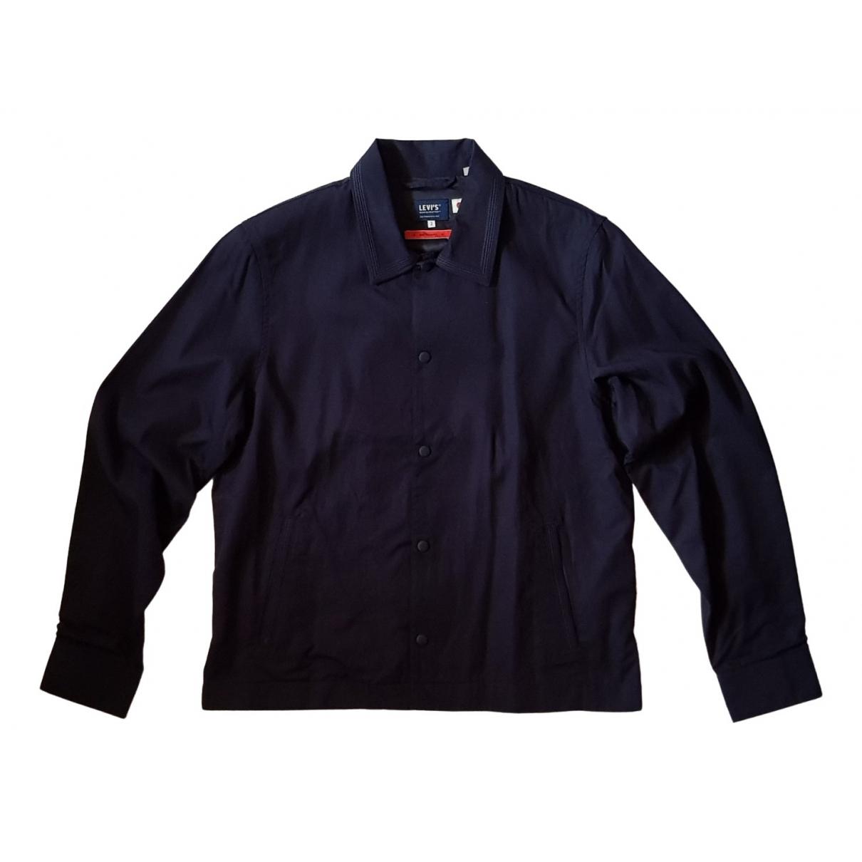 Levis Made & Crafted \N Jacke in  Blau Baumwolle