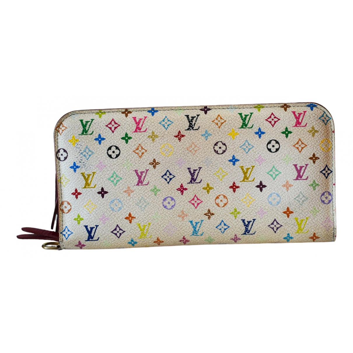 Louis Vuitton - Portefeuille Insolite pour femme en toile - blanc