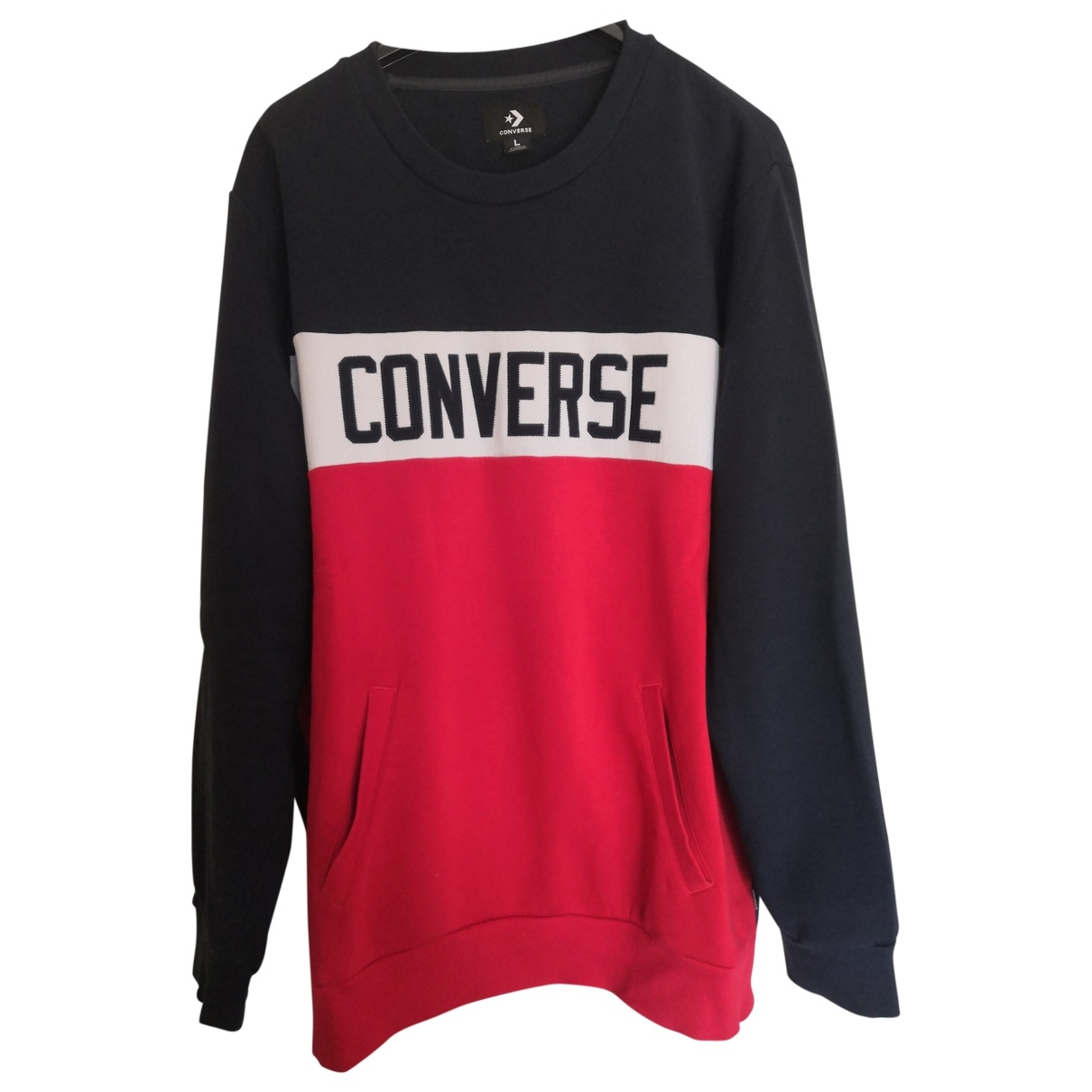 Converse \N Pullover.Westen.Sweatshirts  in  Blau Baumwolle