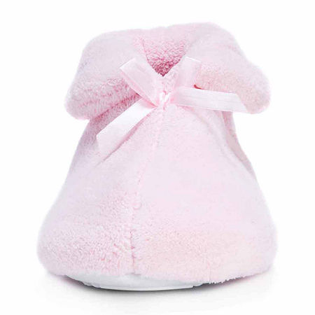 MUK LUKS Micro Chenille Boot Slippers, X-large , Pink