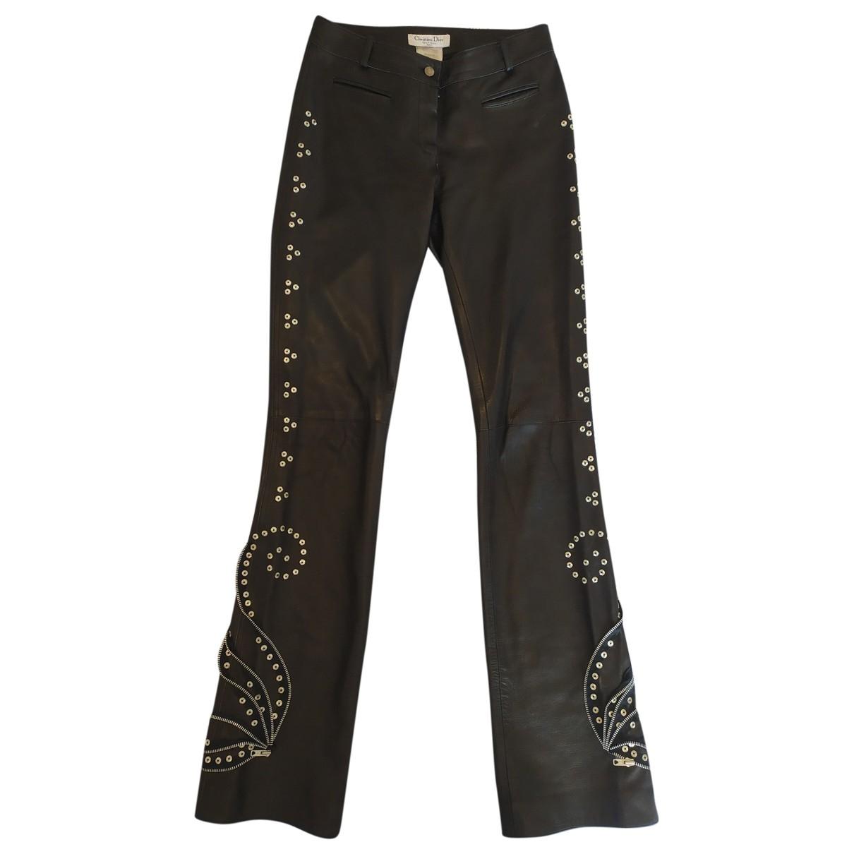 Pantalon de Cuero Dior
