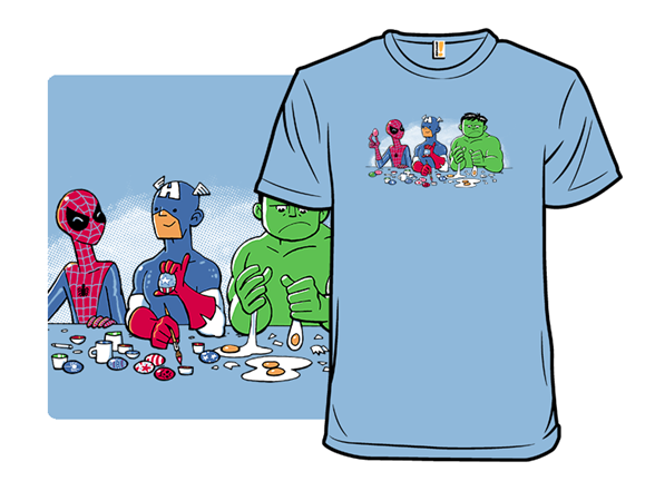 Eggtion Heroes T Shirt