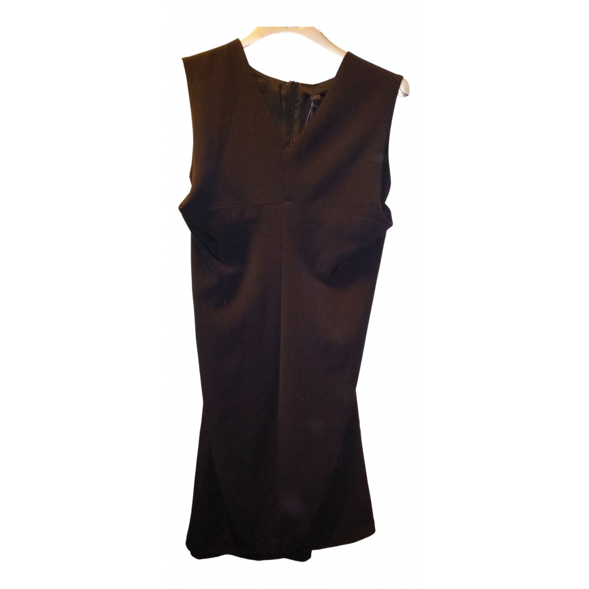 Improvd \N Kleid in  Schwarz Synthetik