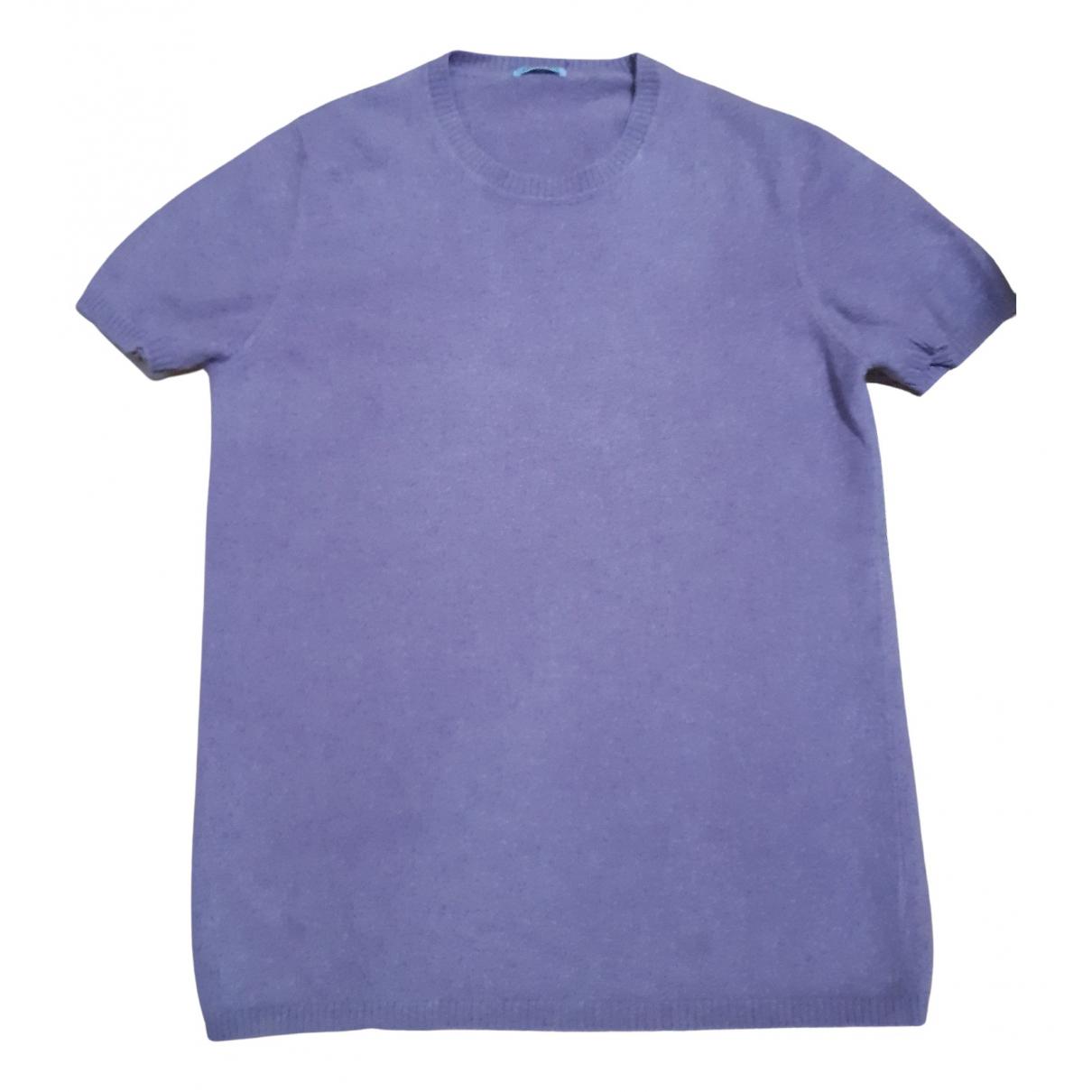 Malo N Purple Cashmere Knitwear for Women 46 IT