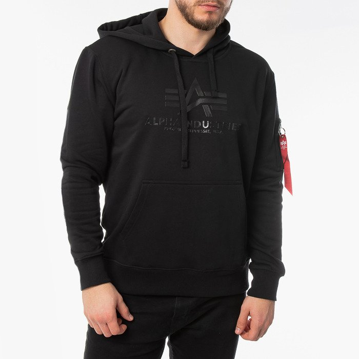 Alpha Industries Vinyl Logo Hoody 126301 03