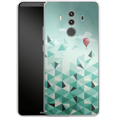 Huawei Mate 10 Pro Silikon Handyhuelle - Emerald City von Little Clyde