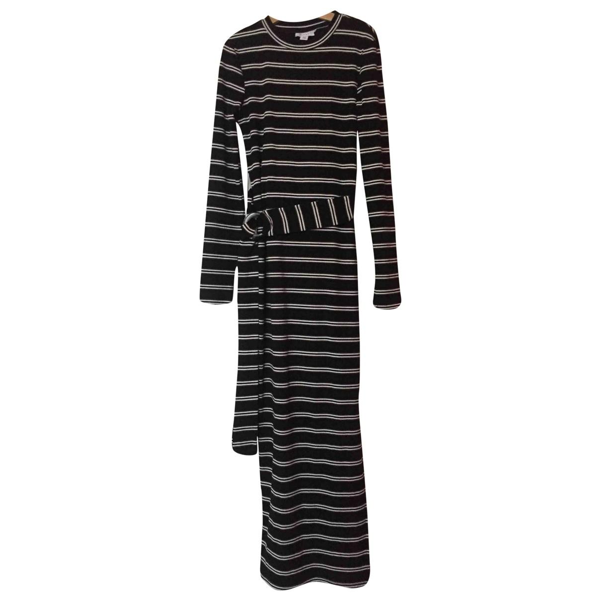 Tophop \N Kleid in  Schwarz Baumwolle