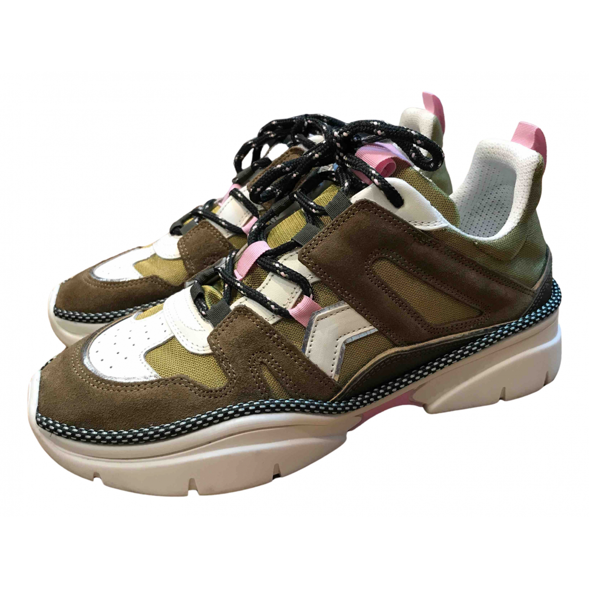 Isabel Marant N Multicolour Leather Trainers for Women 38 EU