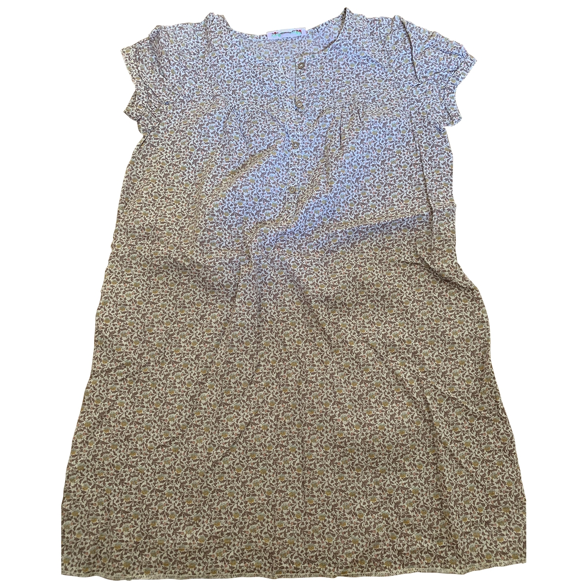 Bonpoint \N Brown Cotton dress for Kids 10 years - up to 142cm FR
