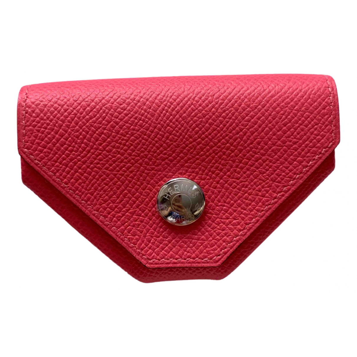 Hermès N Pink Leather Purses, wallet & cases for Women N