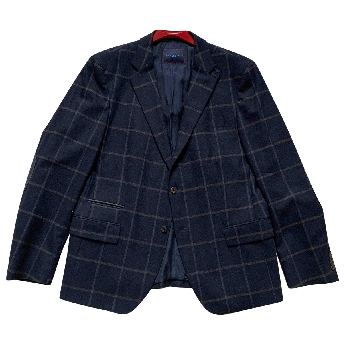 Tommy Hilfiger \N Black Wool jacket  for Men 54 IT