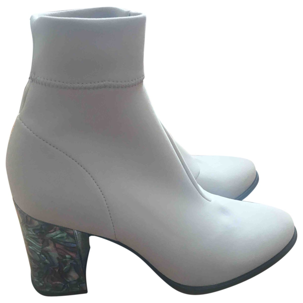 Rodebjer - Boots   pour femme - ecru