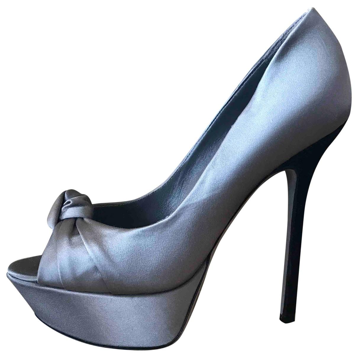 Sergio Rossi - Escarpins   pour femme - gris