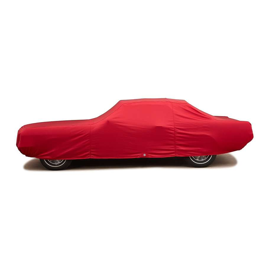 Covercraft FS18384F3 Fleeced Satin Custom Car Cover Red Mini