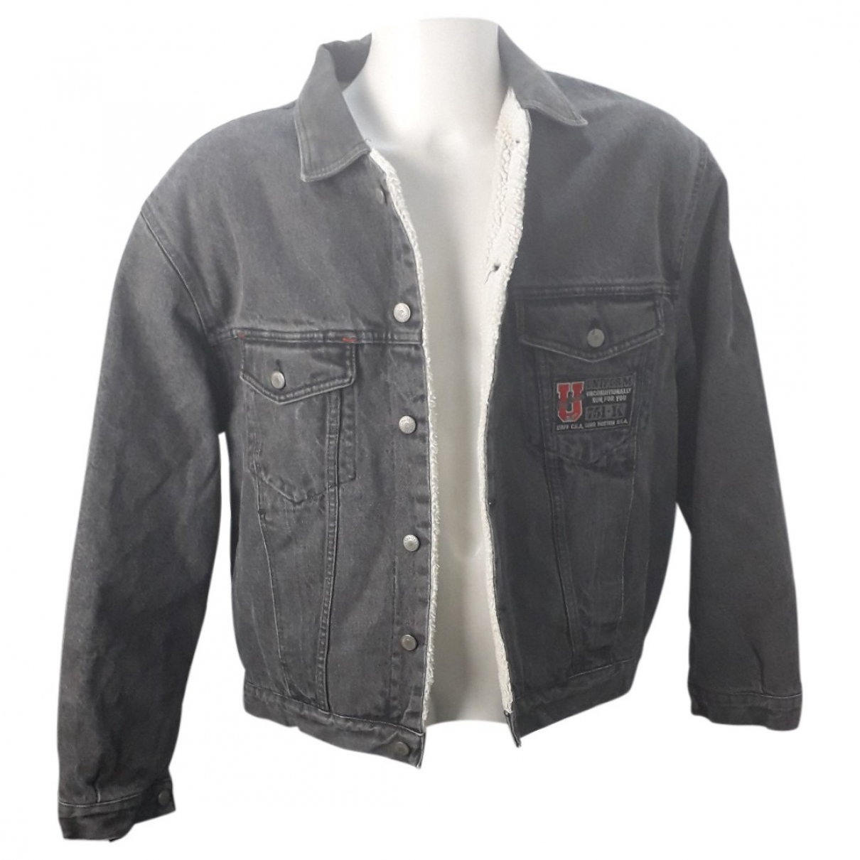 L/uniform \N Black Denim - Jeans jacket  for Men L International
