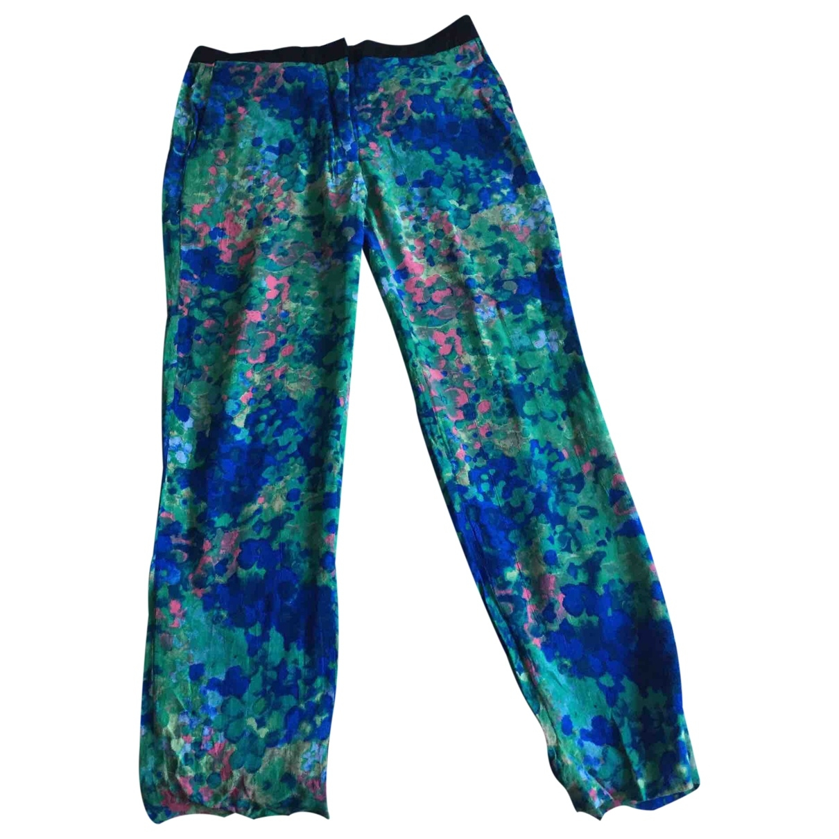 Sandro \N Multicolour Trousers for Women 36 FR