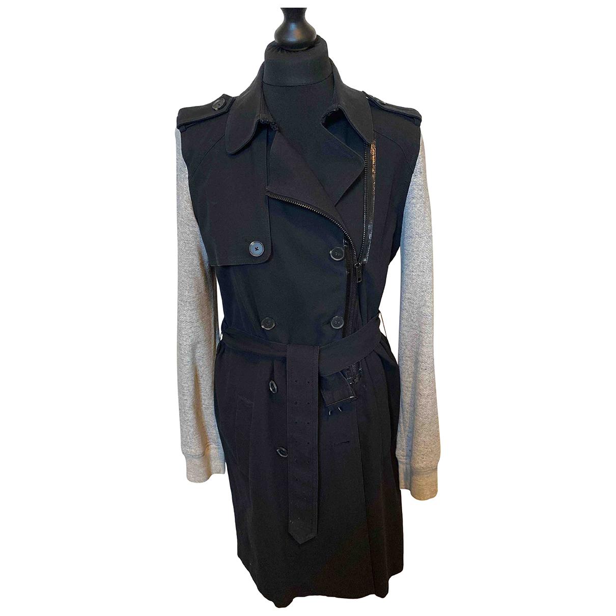 Alexander Wang - Trench   pour femme en coton - noir