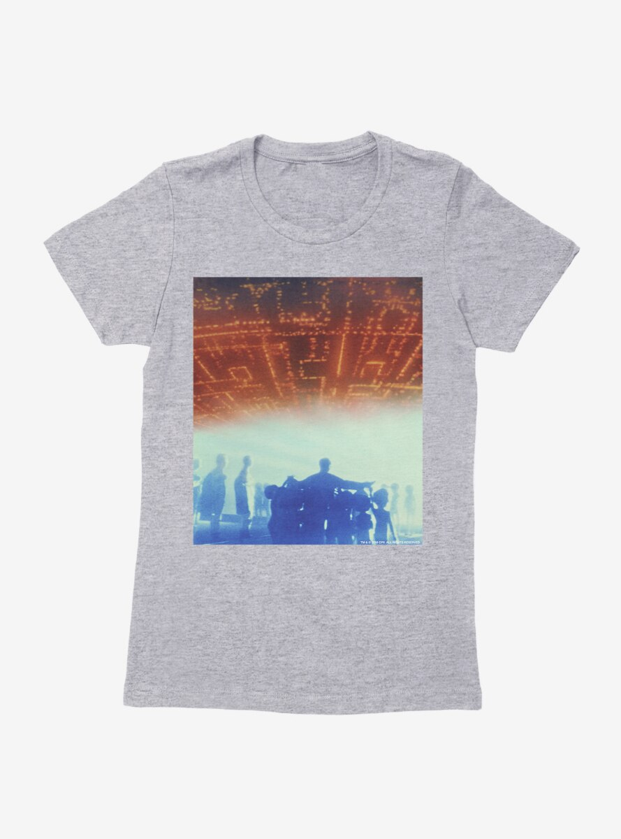 Close Encounters Of The Third Kind Inside The Mother Ship Womens T-Shirt