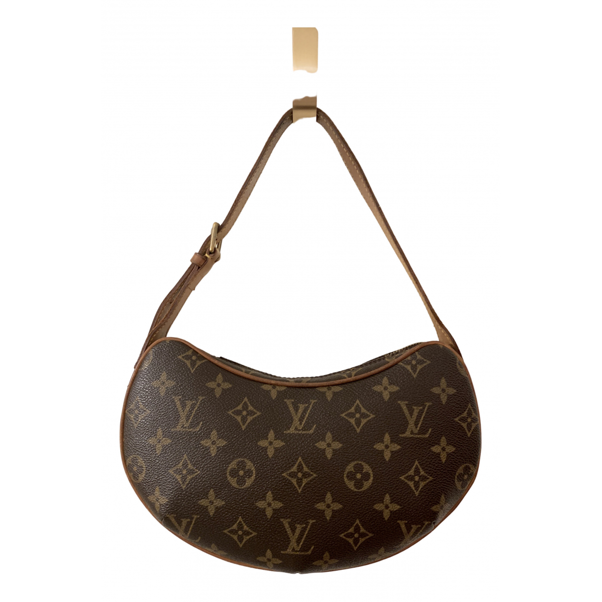 Louis Vuitton Croissant  Brown Cloth handbag for Women \N