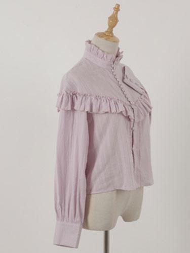 Milanoo Blusa clasica de Lolita Blusa vintage de niña Kawaii