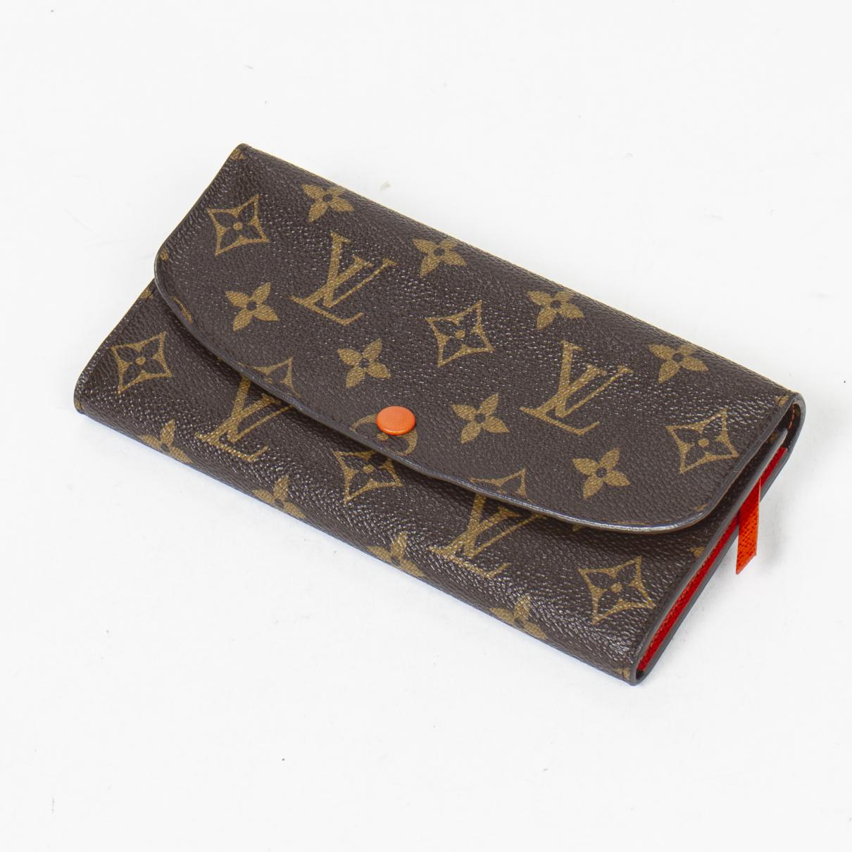 Louis Vuitton - Portefeuille Emilie pour femme en cuir