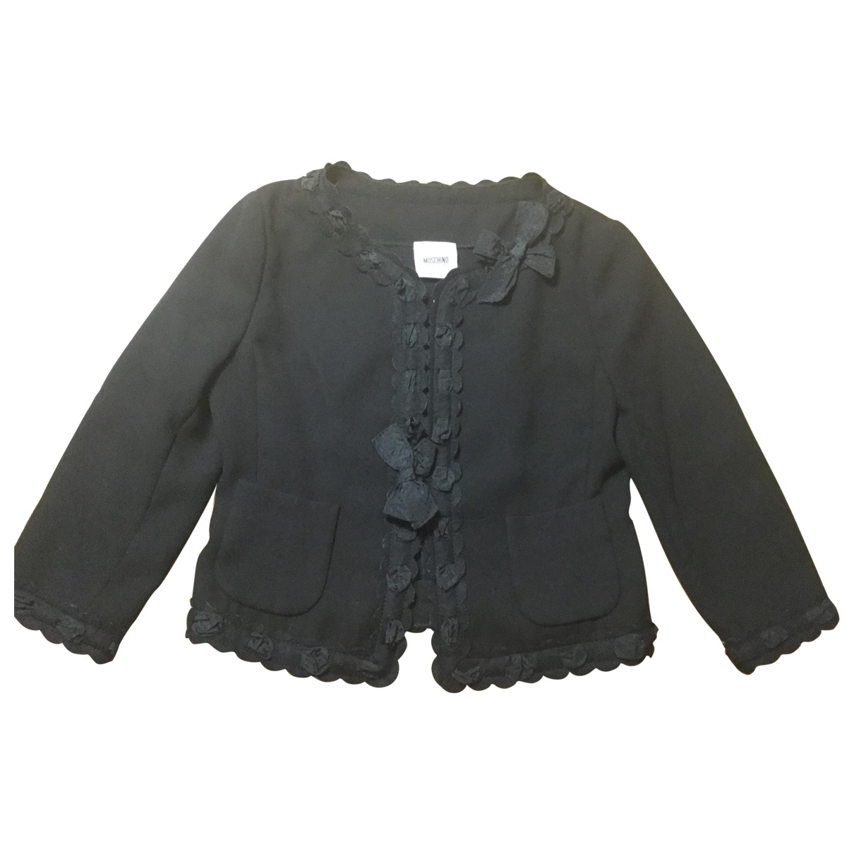 Moschino Cheap And Chic \N Black jacket for Women 40 FR