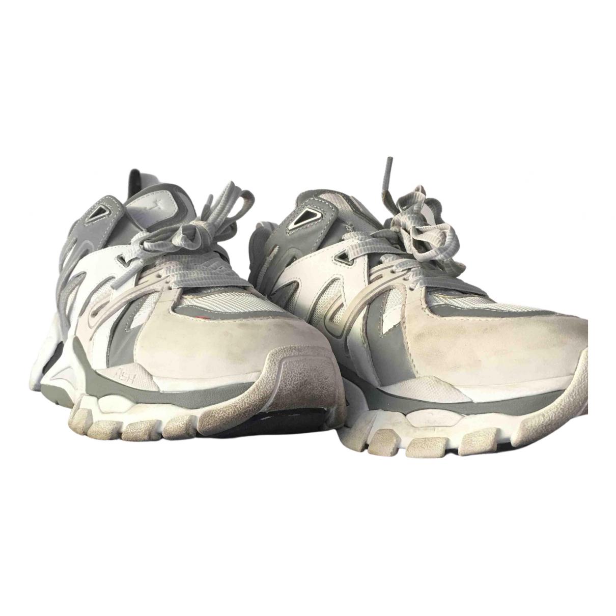 Ash \N Sneakers in  Silber Leder