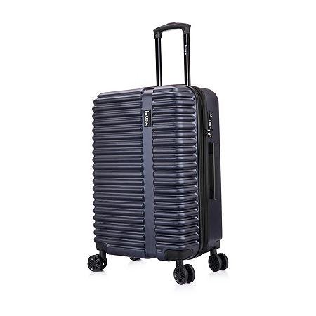 InUSA Ally Hardside 24 Inch Luggage, One Size , Blue