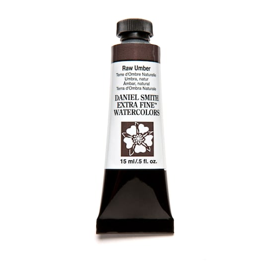 Daniel Smith Extra Fine™ Watercolor, 15 Ml Paint in Raw Umber | Michaels®