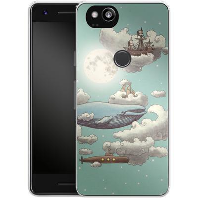 Google Pixel 2 Silikon Handyhuelle - Ocean Meets Sky von Terry Fan