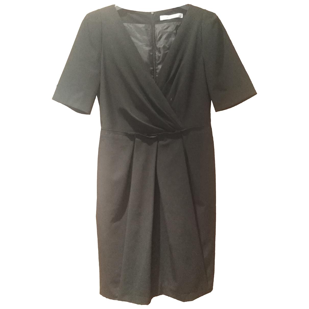 Bimba Y Lola \N Kleid in  Schwarz Viskose